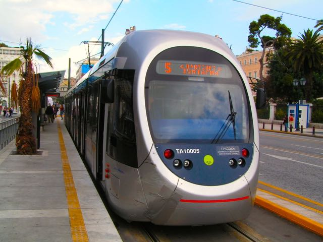 Athens coastal tram for How much does a hillside tram cost