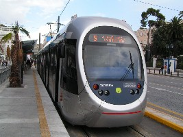 Athens Tram in Syntagma